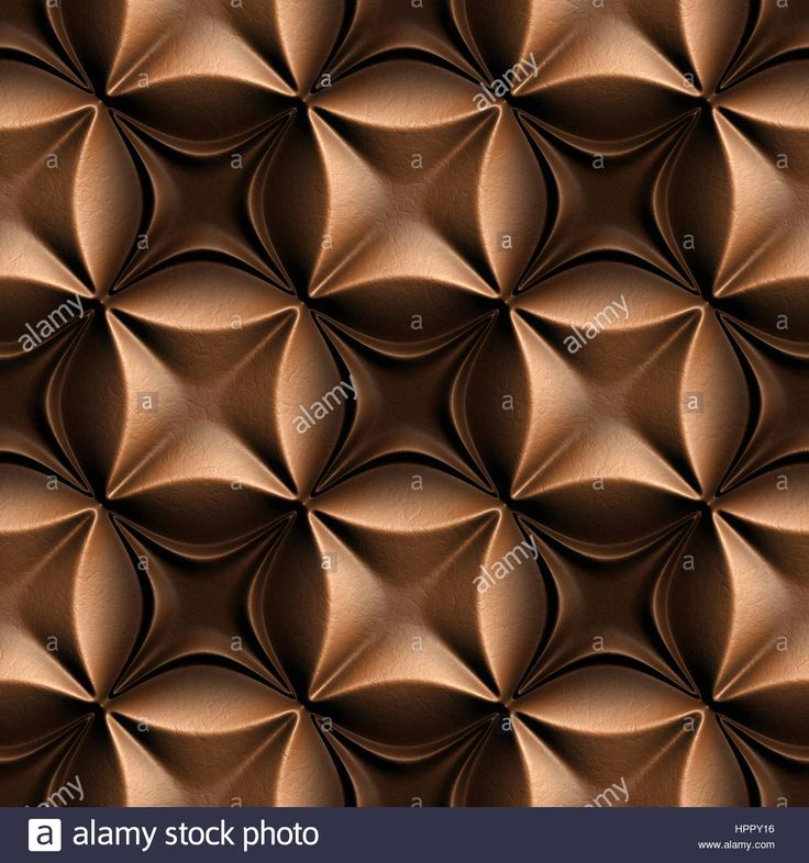Download this stock image: 3d seamless tile pattern brown leather background. - HPPY16 from Alamy's library of millions of high resolution stock photos, illustrations and vectors.