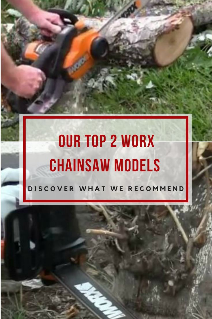 Discover two top quality Worx chainsaw electric powered models; one equipped with a 14 inch chain and the other with an 18 inch chain! via @powertoolsninja