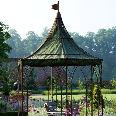 Hexagonal Gazebo - Garden Room Designs  (houseandgarden.co.uk)