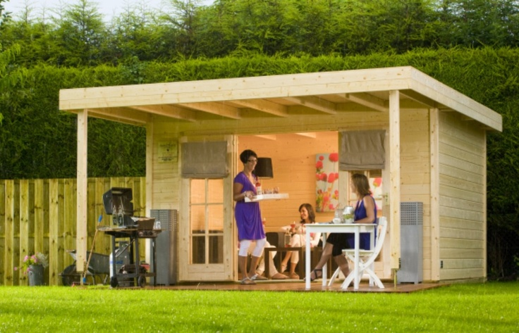 Tuinhuis Bear County Trendy - Maison et décoration - Jardinage - Bear County