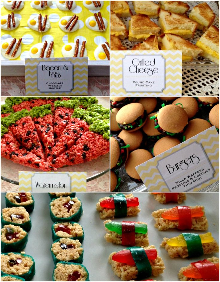 """Easy """"not what they seem"""" April Fool's food ideas! 
