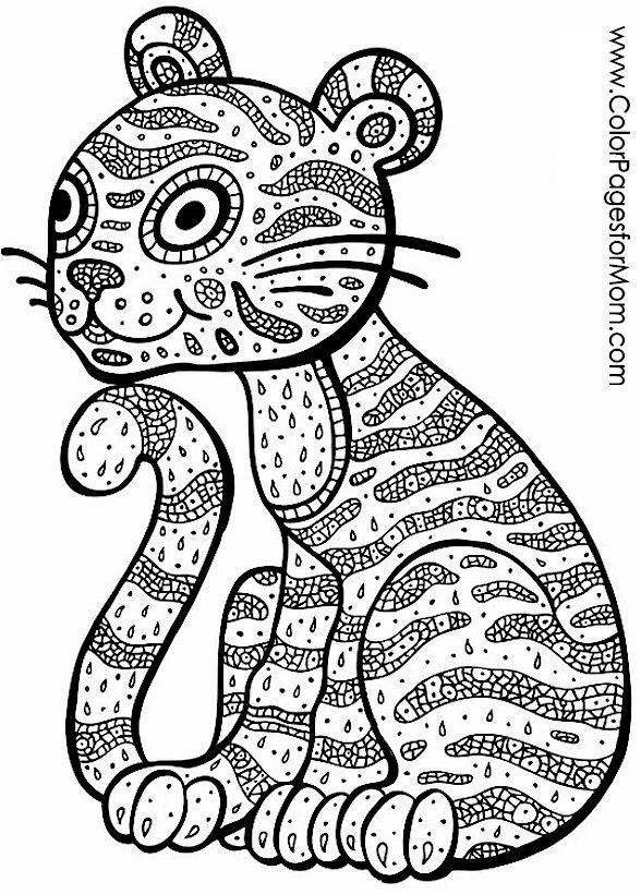 1001 best coloring - adult images on pinterest | animal coloring ... - Advanced Coloring Pages Animals