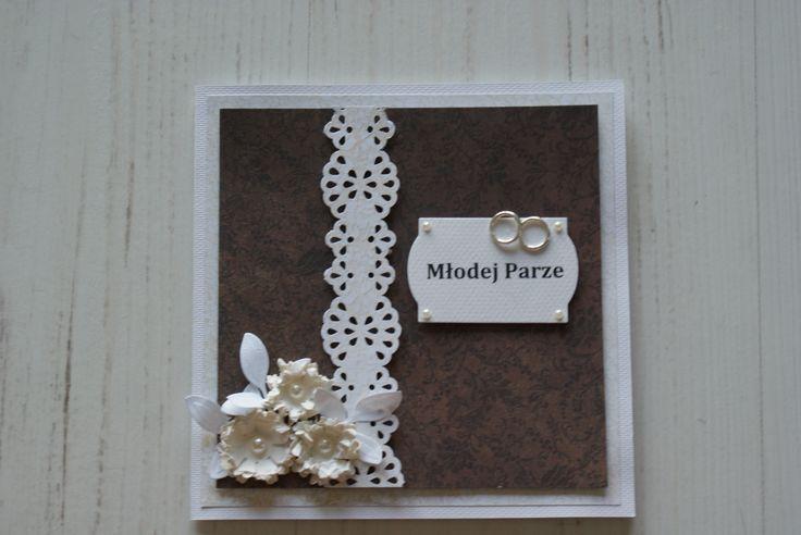 Wedding day card-kartka na ślub
