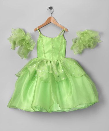 Take a look at this Green Tinker Bell Dress Set - Toddler & Girls by Bijan Kids on #zulily today!