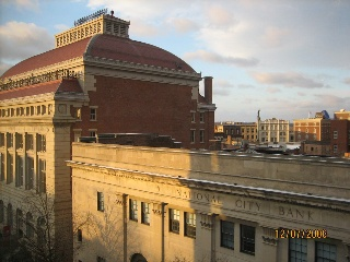 The Troy Savings Bank Music Hall renowned for its wonderful acoustics.