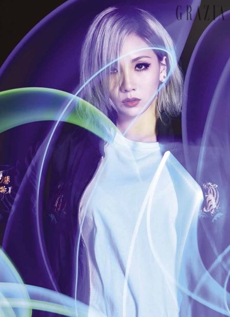Style Korea: The Art of Korean Fashion • 2NE1's CL for Grazia Korea December 2015....