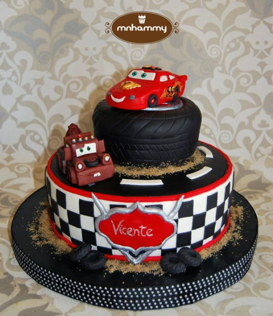 Cake Designs Disney Cars : Cars - Disney cake codys bday Celebrations / Party Ideas ...