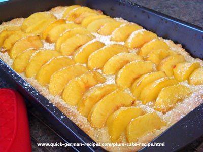 Peach Cake Just Like Oma S