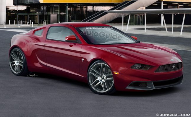 2015 Ford Mustang to Shed 400 Pounds. For more, click http://www.autoguide.com/auto-news/2013/08/2015-ford-mustang-to-shed-400-pounds.html