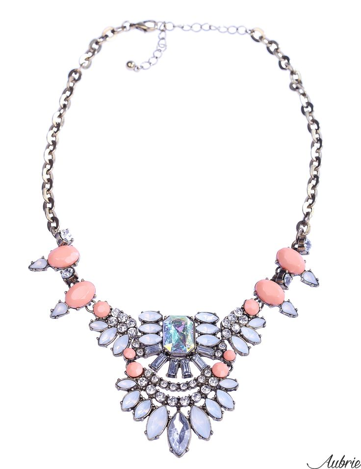 #aubrie #aubriepl #aubrie_necklaces #necklaces #necklace #jewelery #accessories #livia #pastel #colorful #shine #crystal