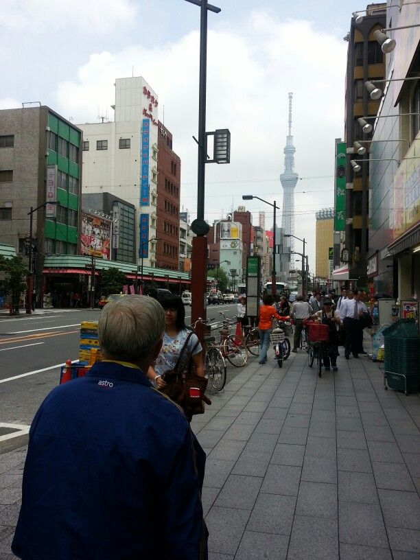 Near to tokyo tower...