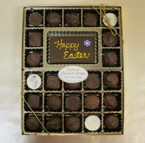 14 best easter images on pinterest aunts dark and lighting great easter hostess gift from bellbrook chocolates negle Choice Image