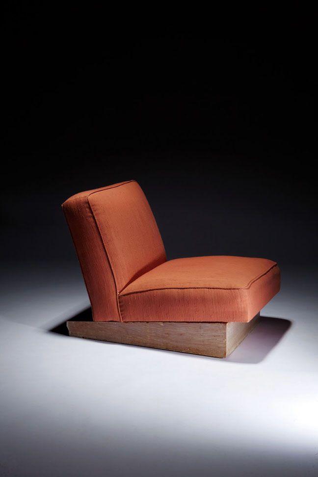 Albert Frey, Custom Lounge Chair for Frey House #1, 1940.