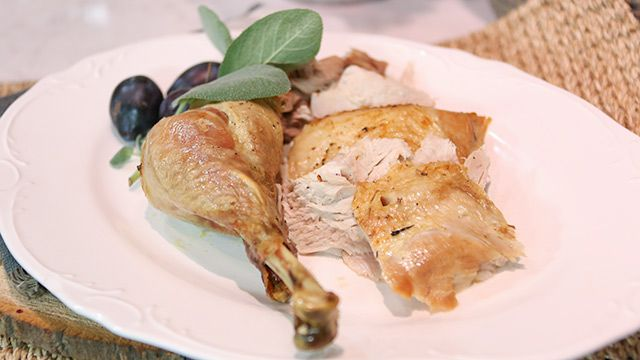 New spin on your turkey dinner