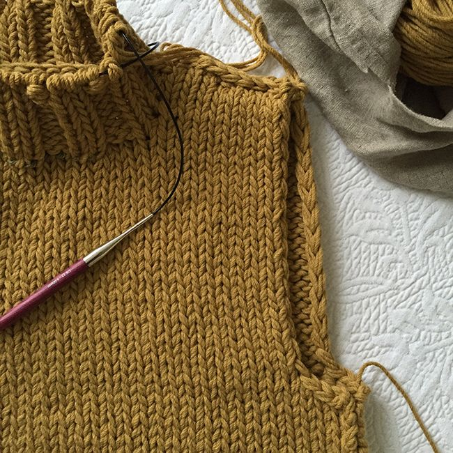 I'm pretty sure the first person to ever clue me in on this one was my pal Meg Strong. A lot of times there will be an edge of your knitting that's exposed — say, the long sides of a scarf or the e...