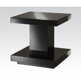 ACMEF80727 Black End Table