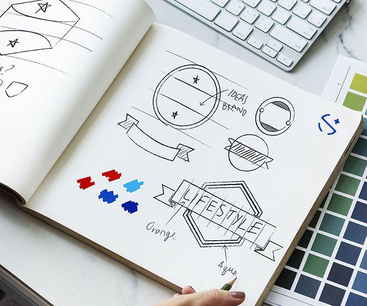 At Make Logo Online Free your can make a logo design in 3 steps online.