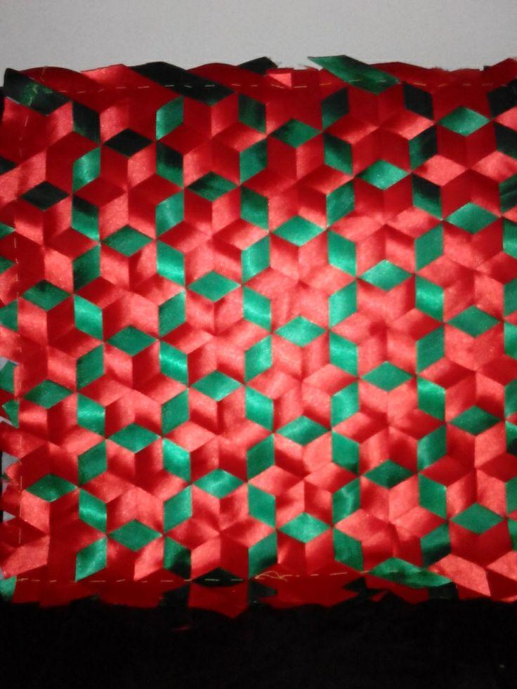 1000 images about tejido con cintas on pinterest - Para navidad manualidades ...