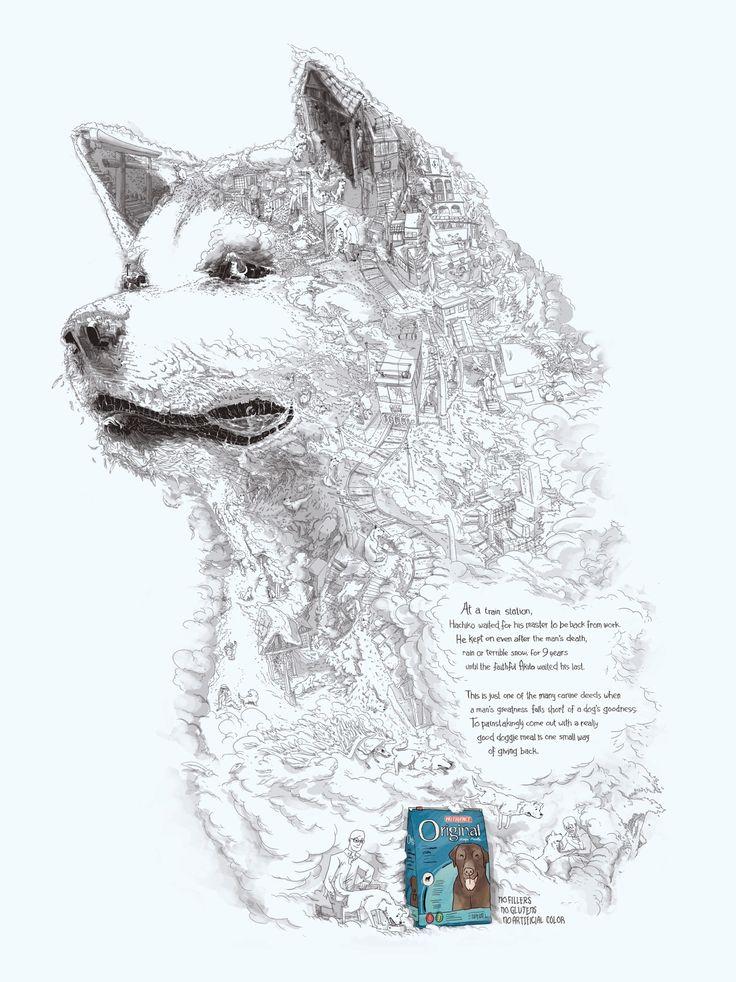 """フィリピンのペットフードブランド """"忠犬ハチ公""""を広告に起用     AdGang"""