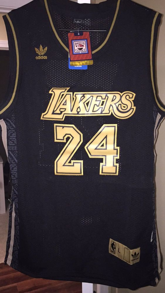 New! La Angeles Lakers #24 Tribute To Kobe Kobe Bryant #NBA Swingmans Jersey Lg from $49.99