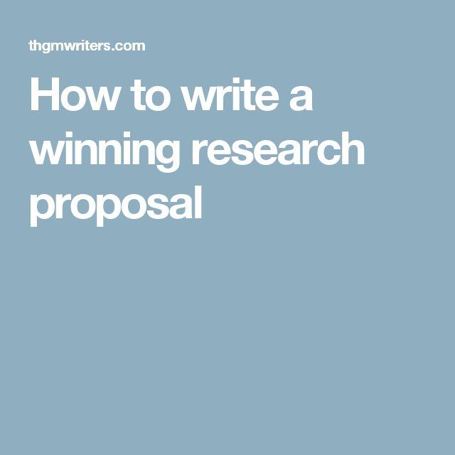 Teki Den Fazla En Iyi Research Proposal Fikri
