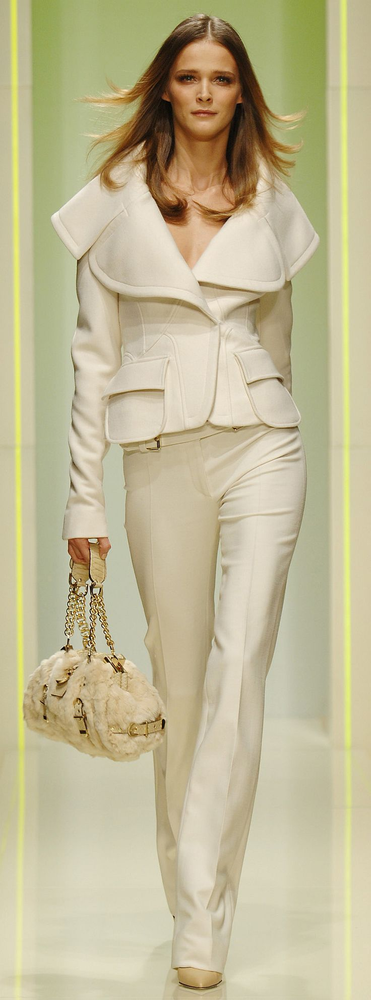 Versace Ready To Wear Autumn 2005 SEE NEW BOARD FASHION # 2- TOO MANY PINS ON THIS BOARD