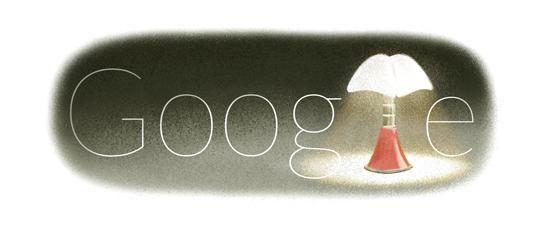 Doodle in ricordo della designer italiana Gae Aulenti