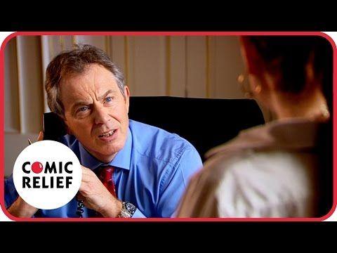 Lauren Cooper meets Tony Blair | Comic Relief - YouTube