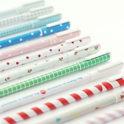 펜 볼펜 심플 컬러 라이브워크 귀여운 깔끔 패턴펜 아이 어린이 학생 시험 수험생 선물 필기 필기구 준비