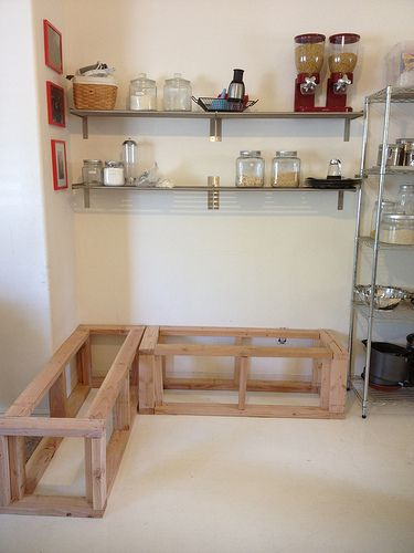 1000 images about nook on pinterest breakfast nooks tables and round tables - Kitchen nooks with storage ...