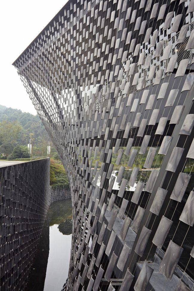 Xinjin Zhi Museum, Cheng du, China by Kengo Kuma Architect