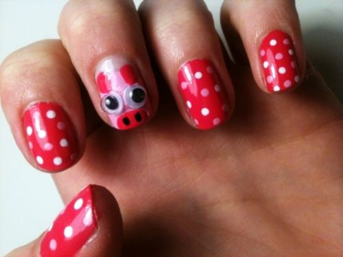 Pig nails, so adorbs!!!