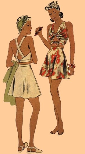 1940 Swimsuits