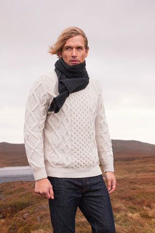 Premium Irish knitwear brand, made in Donegal using 100% natural fibres…