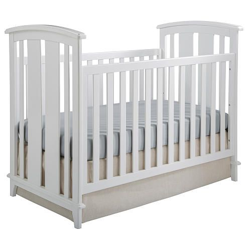 The Kolcraft Elan 3-in-1 Convertible Crib is a 3-in-1 Transitional Crib that converts into a toddler bed and day bed (with optional conversion kit). It is easy to imagine this crib growing up with your child. The design is timeless and enduring and will be the focal point of any nursery for years to come. Assembled product dimensions 55.5 x 32.59 x 46.06.<br><br>Since 1946 Kolcraft's family owned and operated baby product company has journeyed with families through the joys of parenthood by…
