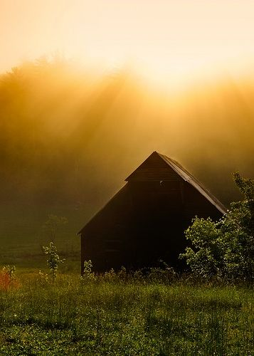 Barn Sunrise