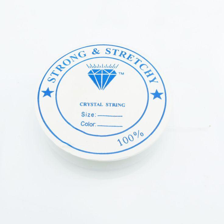 14m Silikon Band 0,5mm (0,16€ pro m) Gummi elastisch Rolle Schnur weiß | Draht und Band | günstig kaufen bei Bacabella.com Schmuckherstellung | Perlen, Schmuck und Schmuckzubehör zum Schmuck selber machen | Schmuck basteln DIY DoItYourself | ganz individuell und einfach