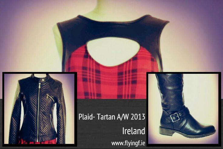 #tartan #plaid www.flyingf.ie
