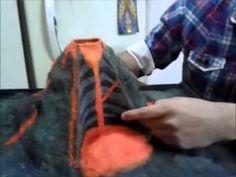 Simulación de Erupción Volcánica