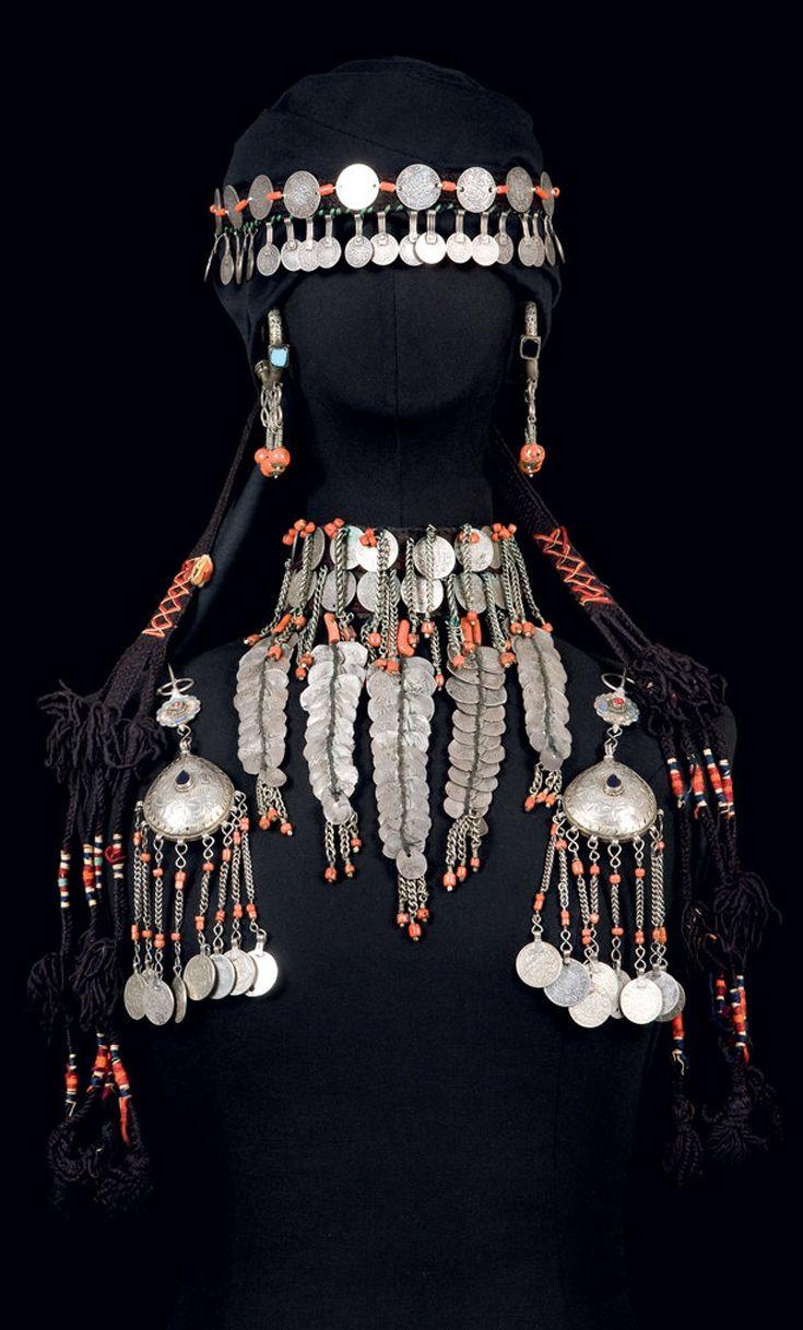 Morocco | Ornamentation from the Zaiane area. | ©Nicolas Mathéus/Musée Berbère  #Morocco #Moroccan #Zaiane