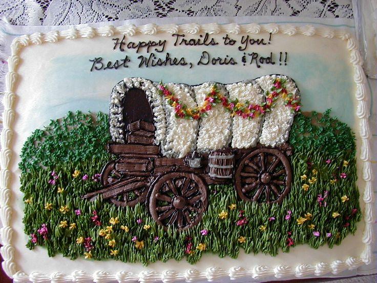 Happy Trails Retirement Cakes Pinterest Happy Trails