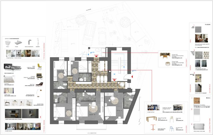 project_Bed & Breakfast Lodging in Sardinia, Italy   phase_Proposal   title_Furniture schema   architects_JoNat Architectse by Joanna Chamilou◦Natasa Markopoulou   year_2015