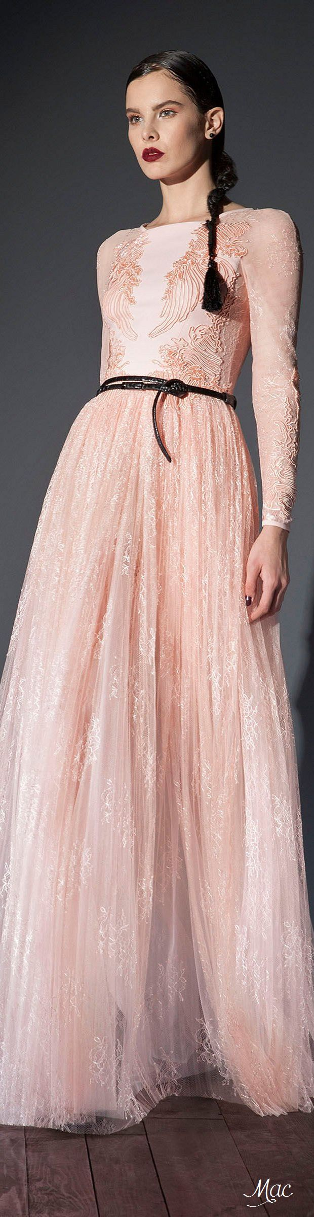 539 best Peach Parfait images on Pinterest | Alta costura, Moda de ...