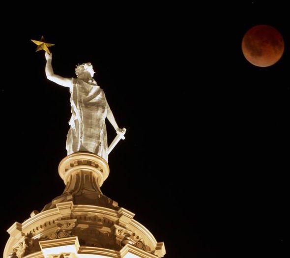 April 15, 2014 red moon, blood moon, moon eclipse, lunar eclipse, tetrad, nasa moon