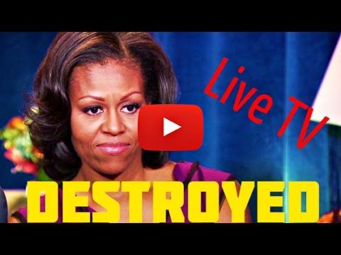 Black TV host just destroyed Michelle Obama in Historic Way On Live TV - YouTube