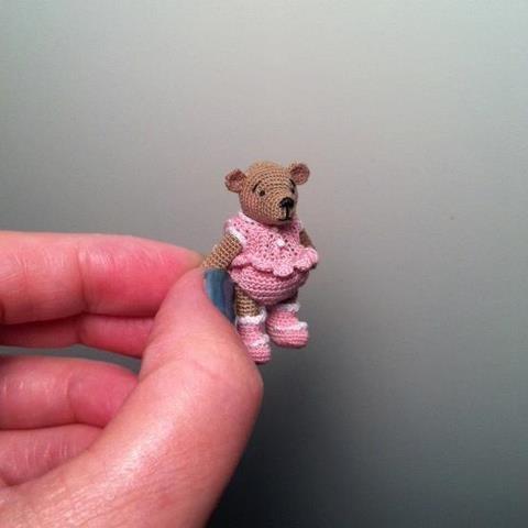 Bluebeary Treasures: Crochet Miniatures, Artists Bears, Teddy Bears, Crochet Artists, Elspeth Dolls, Dolls Crochet, Crochet Teddy, Miniatures Dollhouses, Dollhouses Miniatures