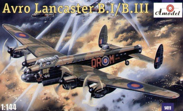 Avro Lancaster B.Mk.I / B.Mk.III. A Model, 1/144, injection, No.1411. Price: 15,12 GBP.