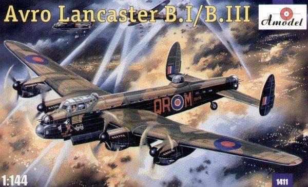 Avro Lancaster B.Mk.I / B.Mk.III. A Model, 1/144, injection, No.1411. Price: 15,12 GBP.
