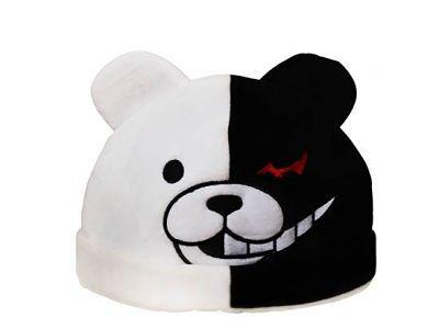 Dangan- Ronpa Monokuma Anime Plush Hat Costume   Cute Az