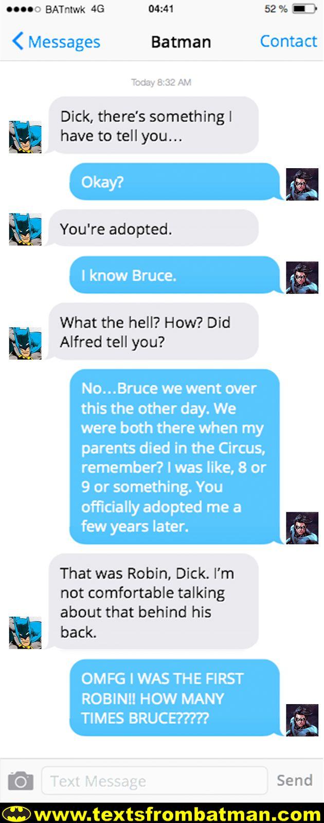 texts from batman